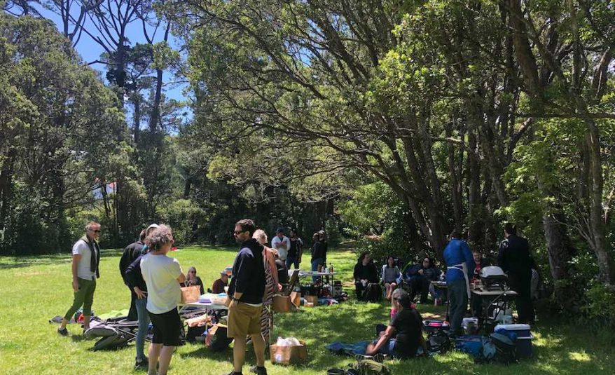 photo of Ackama at a bbq in the park