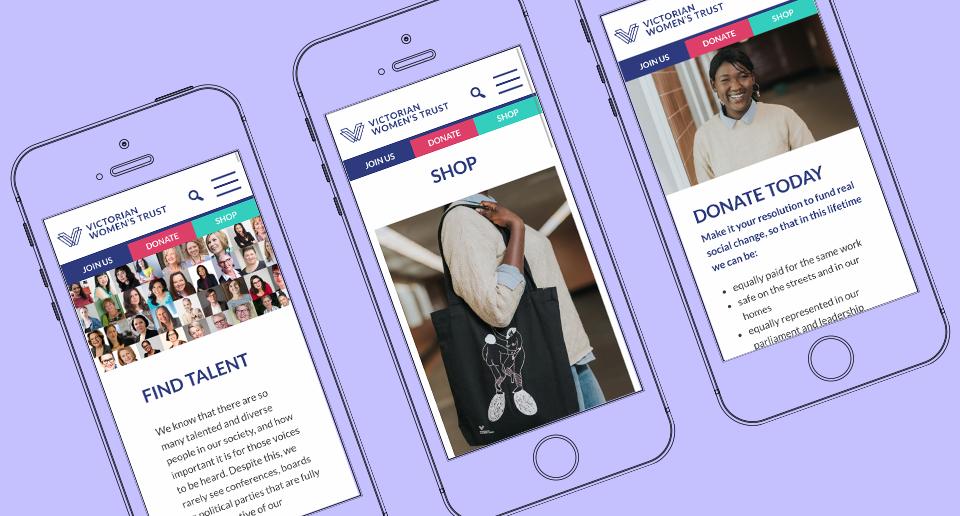 victorian mobile website design australia